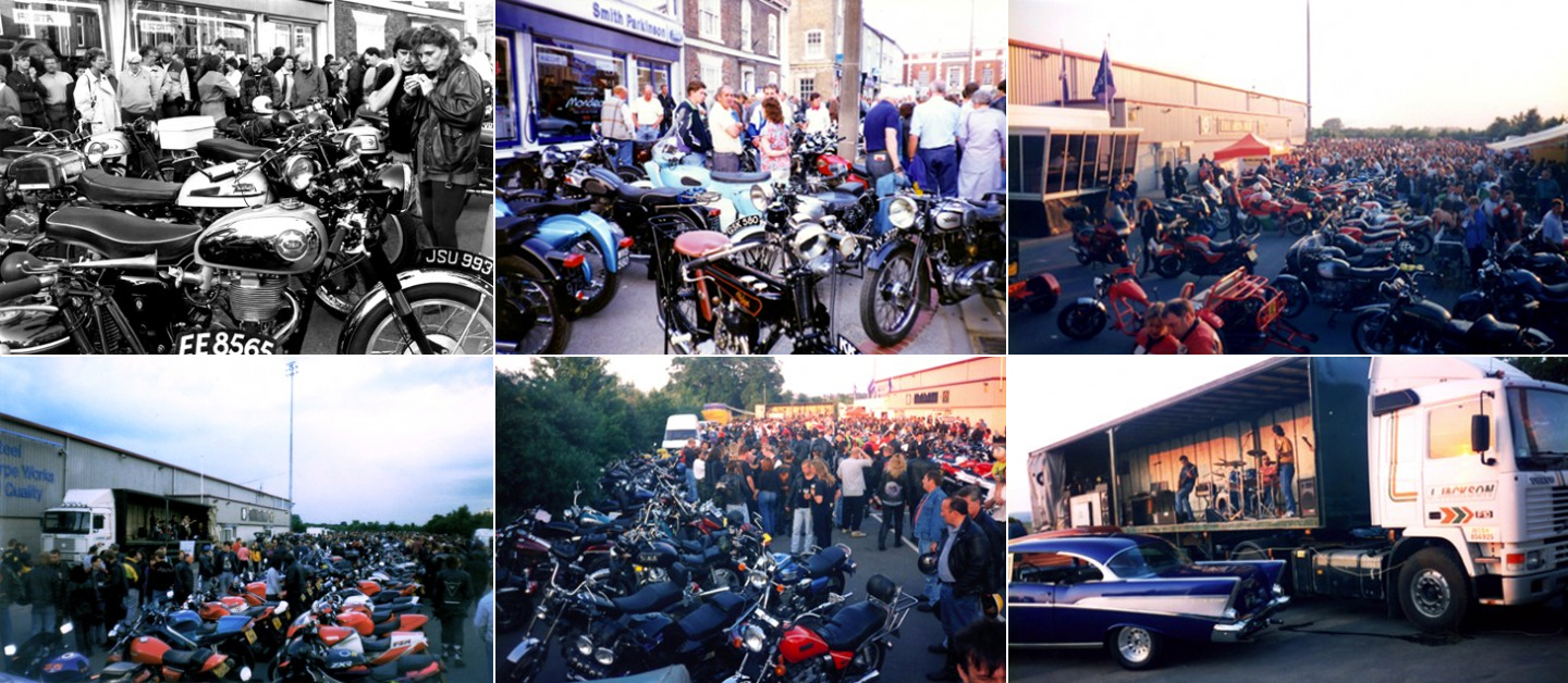 Photos from Brigg bike night and Glanford Park