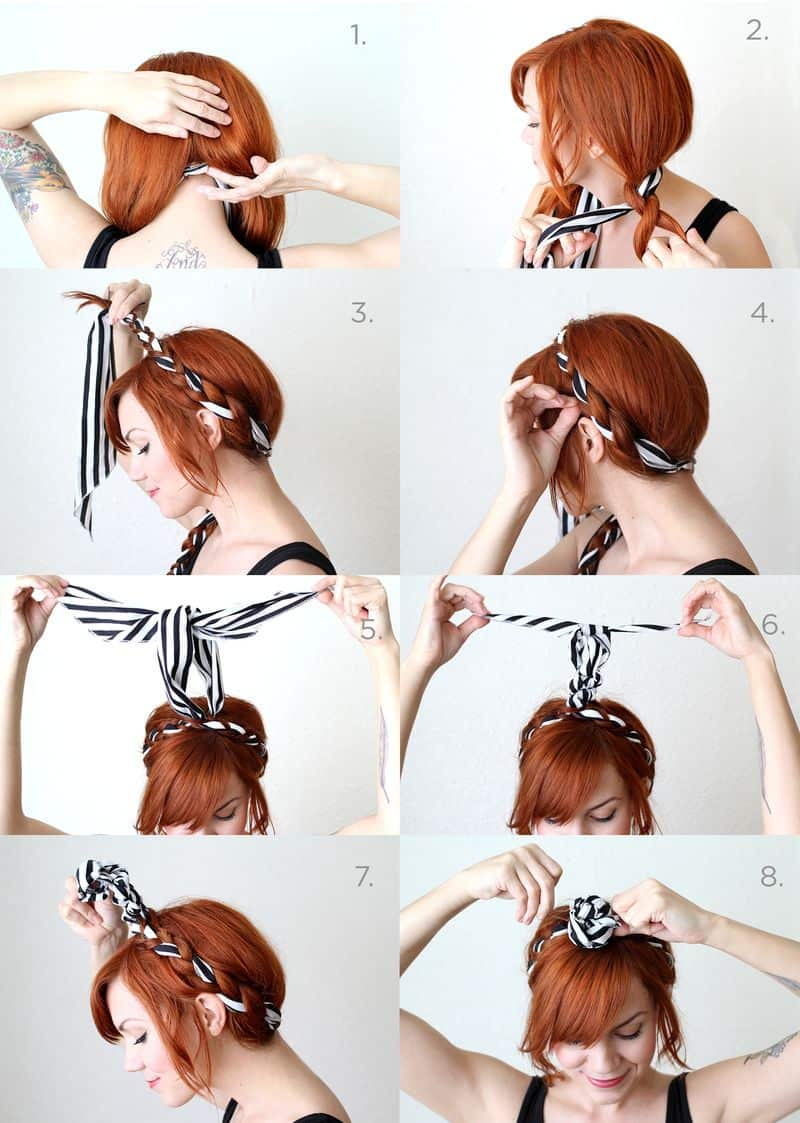Ever feel like your braids are too thin? This style will make them look thicker than you've ever imagined.