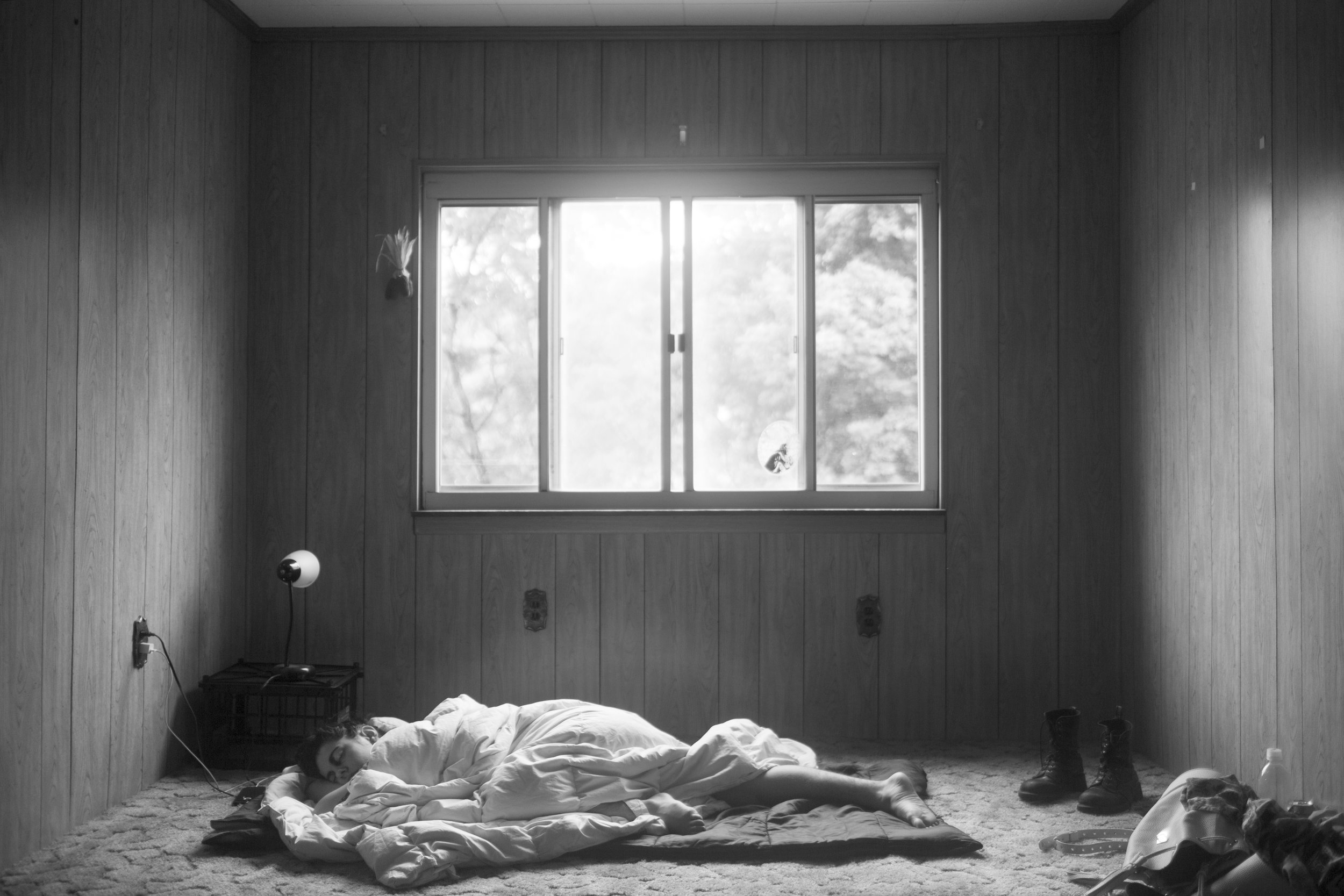 Farra Sleeping, Pittsburgh, 2016