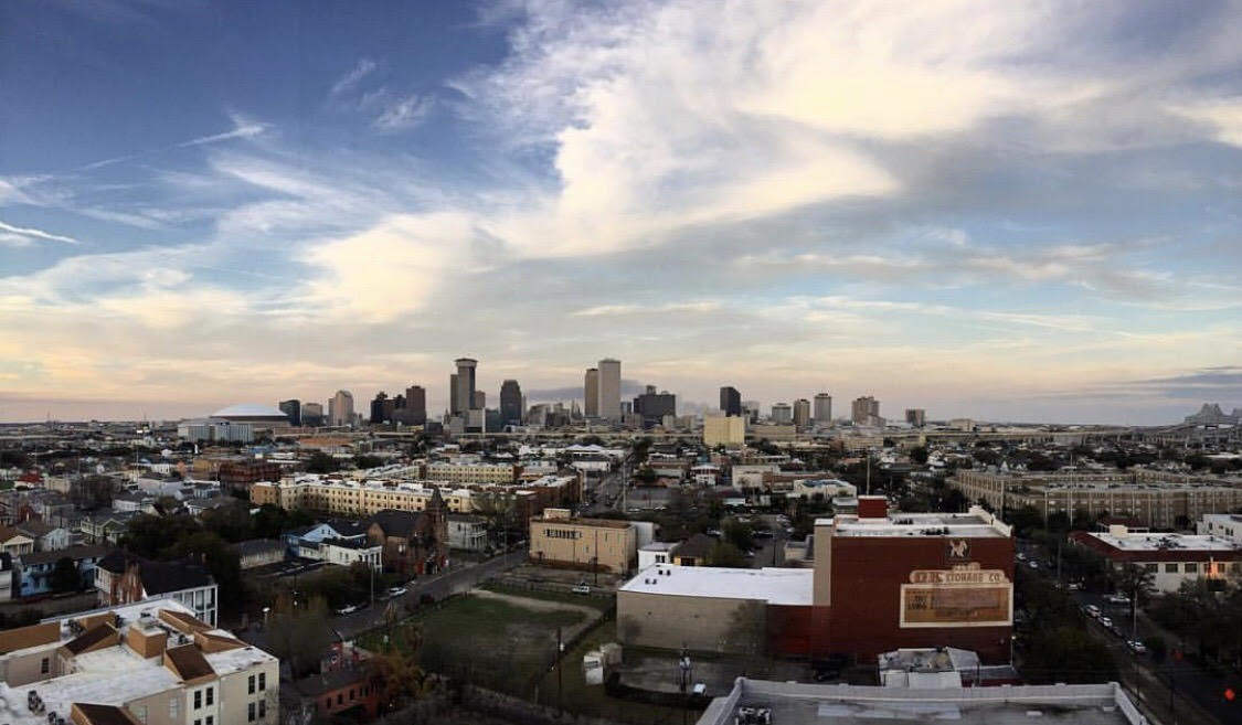 The view from Hot Tin