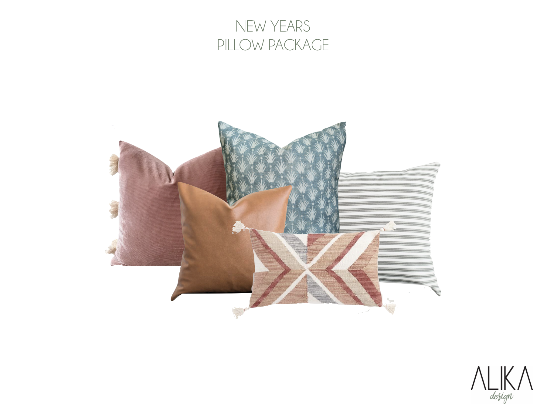 ALIKA DESIGN PILLOW PACKAGE