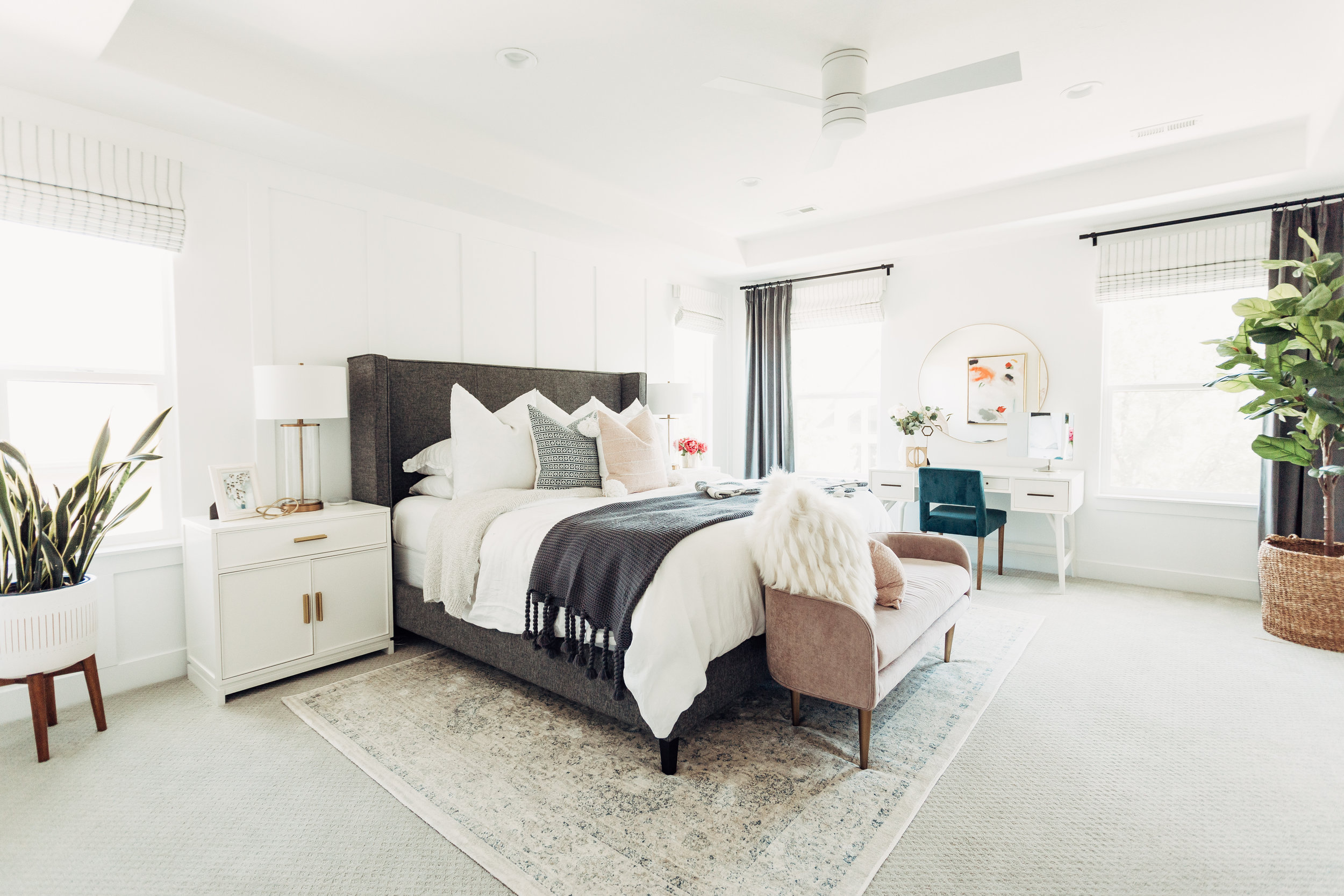 ABBY MASTER BEDROOM REVEAL   A master suite for an amazing #momboss, friend + inspiration!