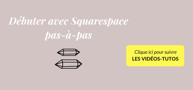 débuter avec squarespace
