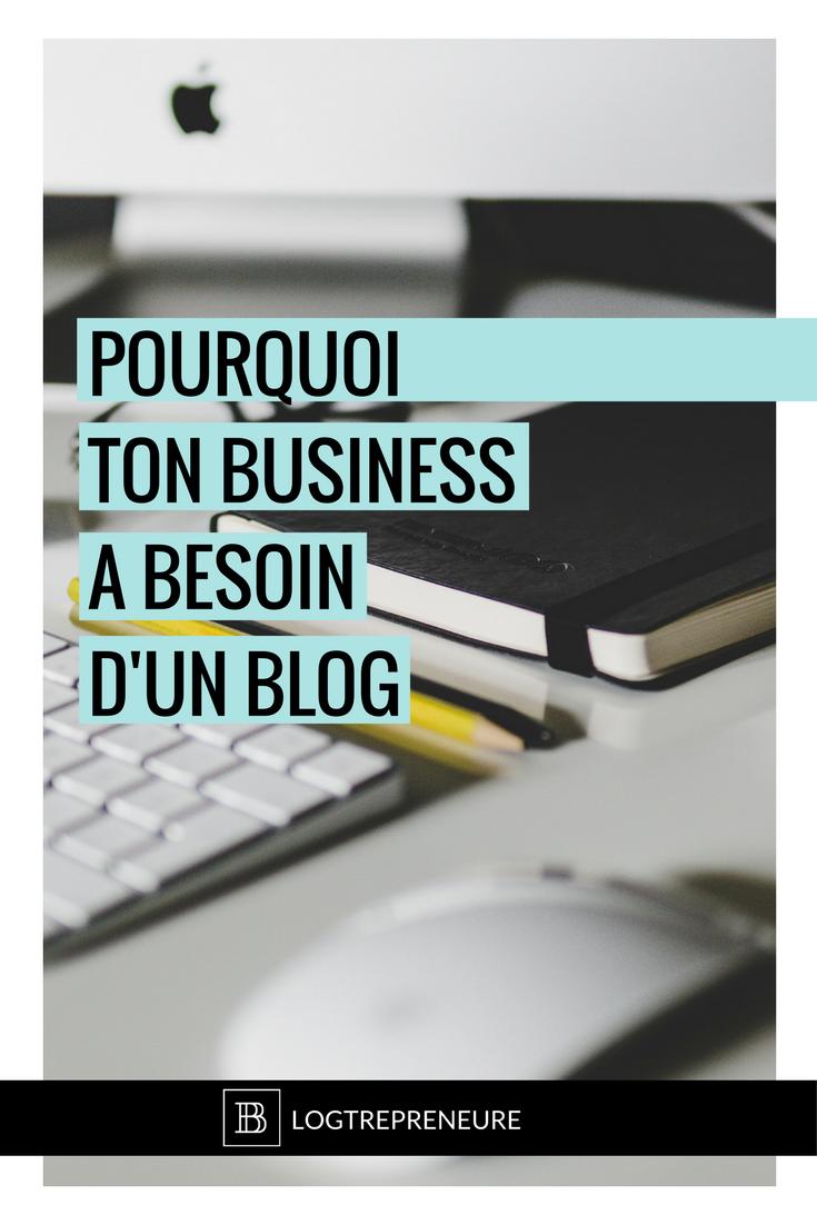 Si tu penses que bloguer c'est un truc pour passer le temps, partager ses découvertes, tenues préférées et coup de coeur littéraire, laisse-moi te dire que tu fais fausse route ! Bloguer pour ton business pourrait bien être ton avantage concurrentiel sans précédent pour aller au-devant de bien plus de clients !