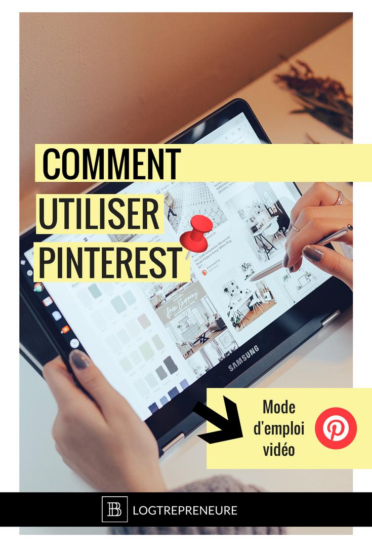 Comment utiliser Pinterest - mode d'emploi