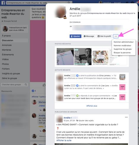 tutoriel supprimer membre groupe facebook