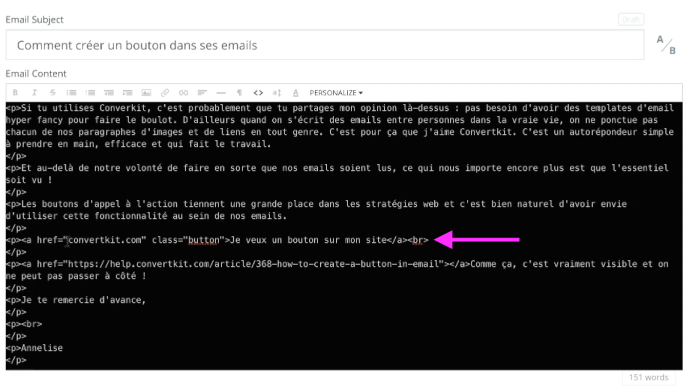 Créer bouton email CK code.png