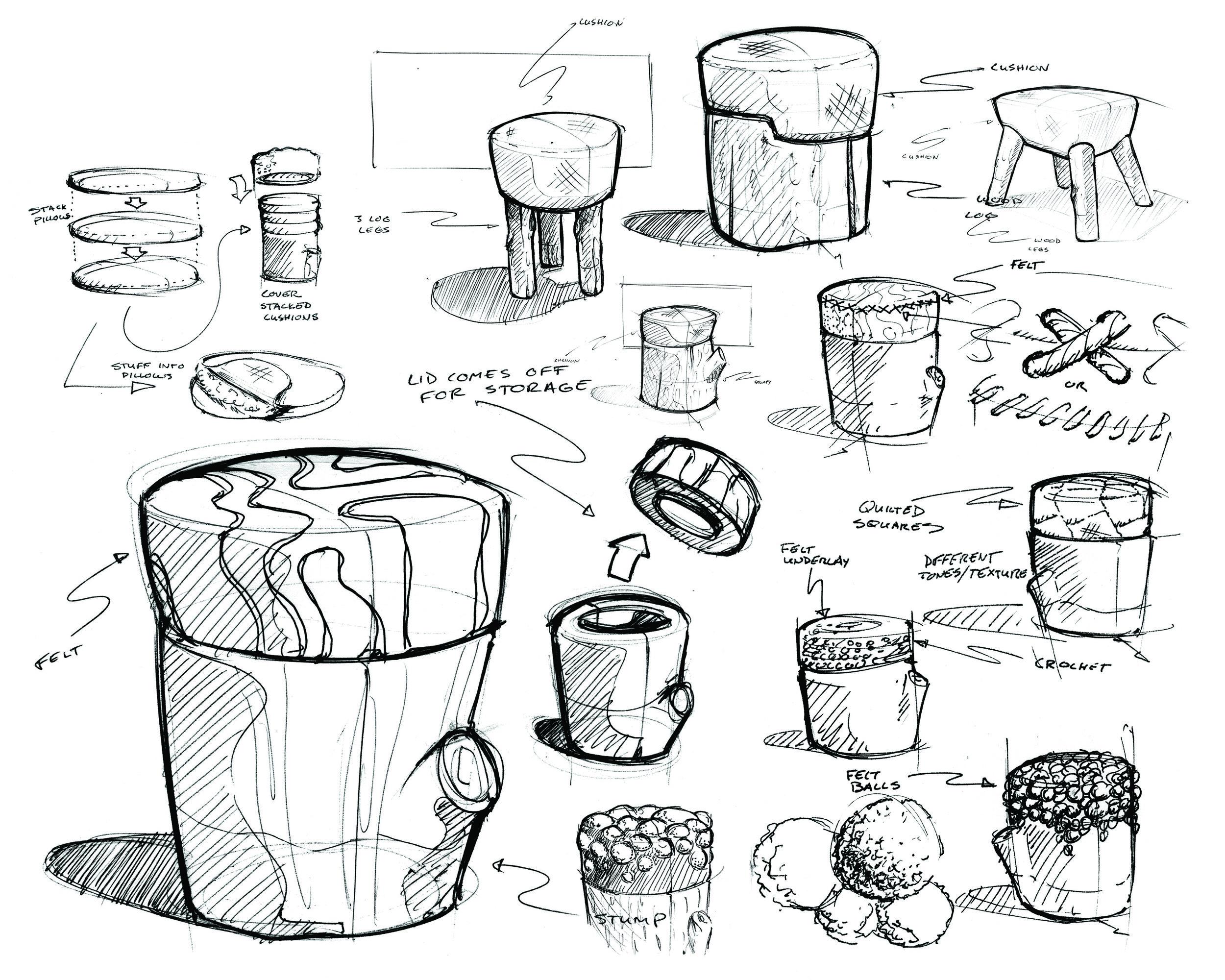 esker-stool-sketches-nicholas-baker