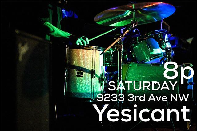 WE ARE PLAYING A SHOW, GOODNESS GRACIOUS WE WANT TO SEE YOU THERE . . . #new #music #rock #trio #bands #in #seattle #authentic #aestetic #discover #create #pnw #producers #rock