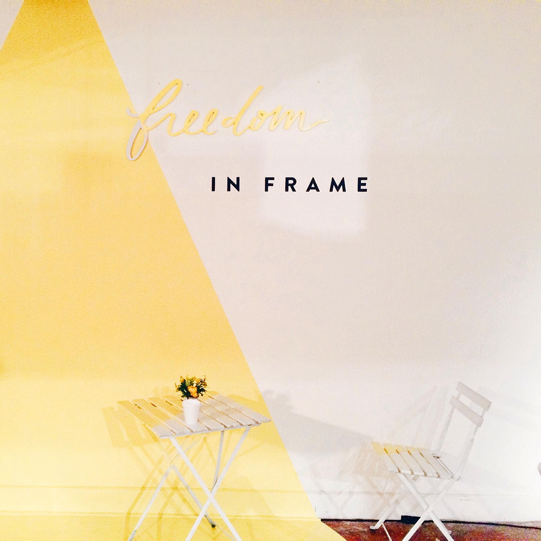 Freedom in frame