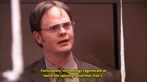 Basically, everyone is Dwight.