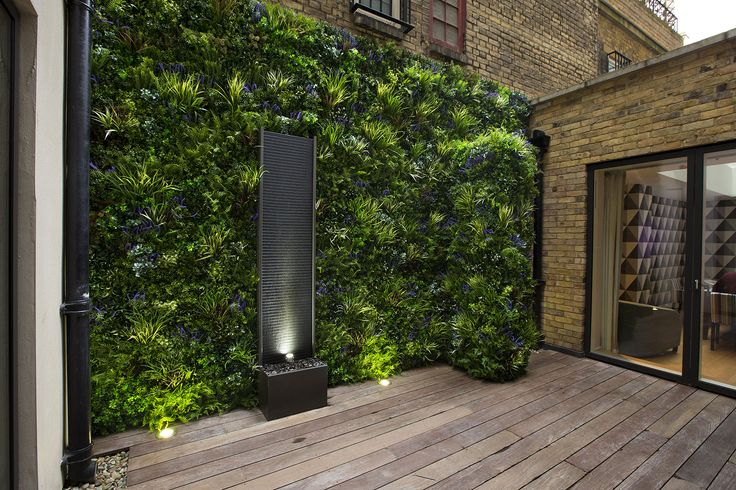 An example of a living wall