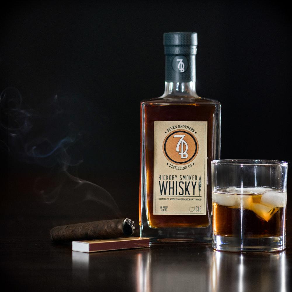 Hickory Smoked Whisky