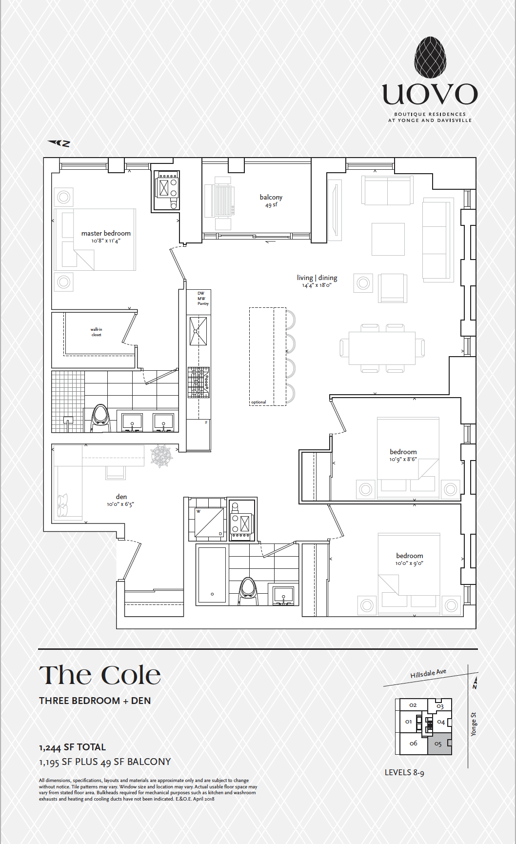 The Cole - Uovo Residences