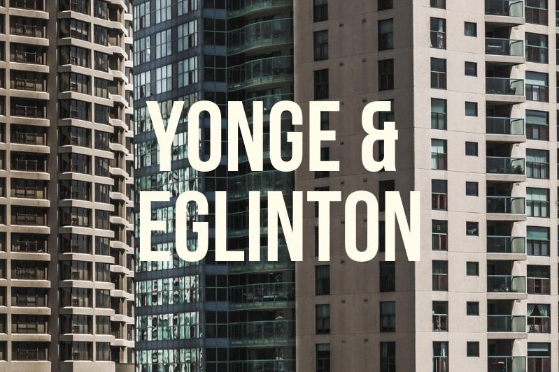 Yonge and eglinton