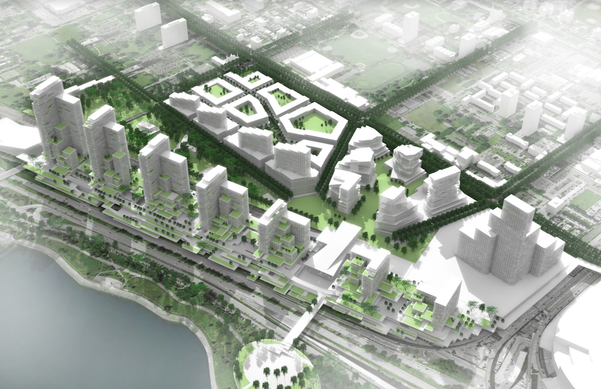 A View of the Image Project Development from Overhead [Artist Rendition]