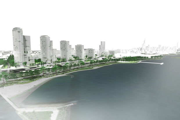 Imagine Development's proposal for the Michael Reese site includes bits of nearly every idea for the vacant land since the city bought it in 2011.
