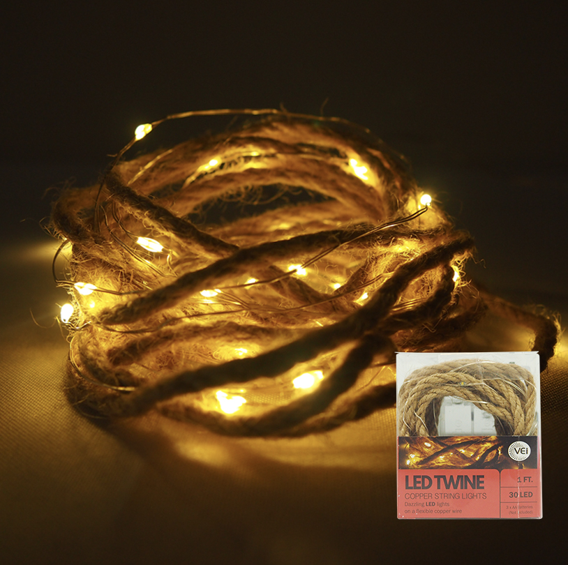 LED Twine String Light - V3712