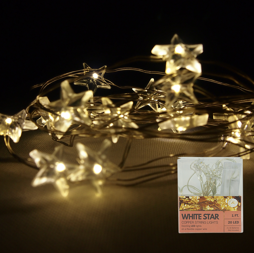 Clear Star String Light - VG004