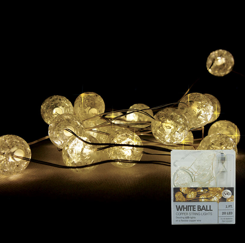Clear Ball String Light - VG030-C