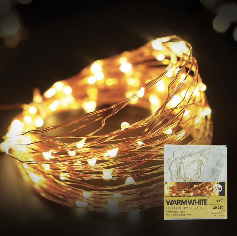 Warm White String Light - VG035-C