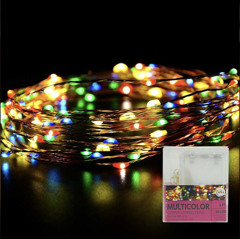 Multi Color String Lights - VG035-M