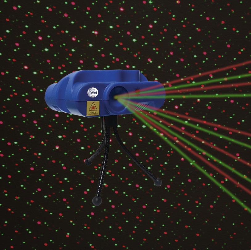 Red Green Laser Light - Laser1A
