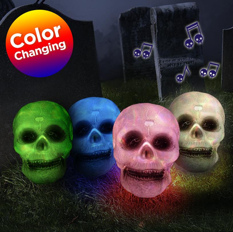 Color Changing Skull - V2107