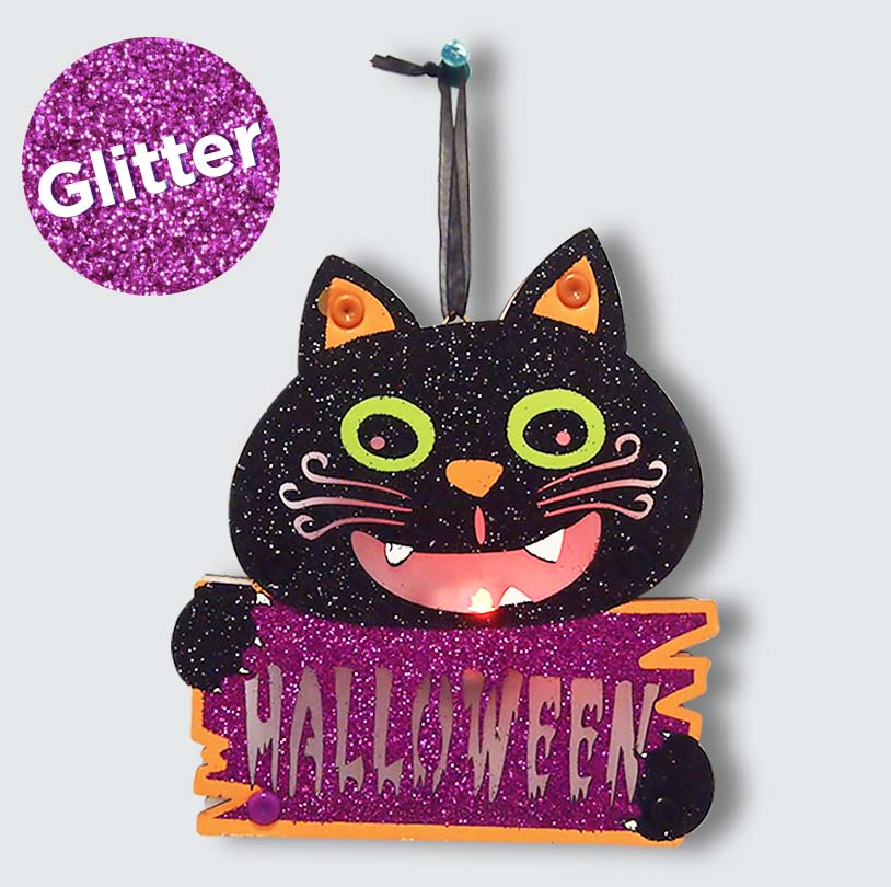 Color Changing Cat Decor - VHD001