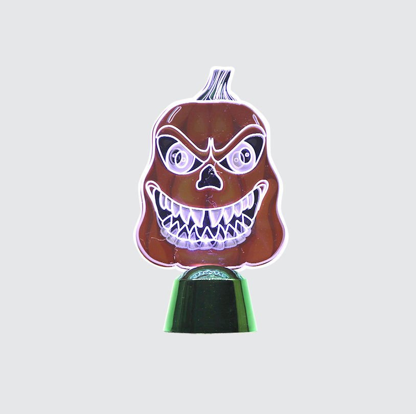 Mini Motion Light - V3D1004H - Evil Pumpkin