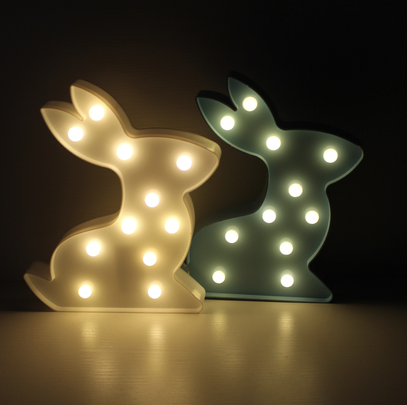 Bunnies Light Decor - ELD01