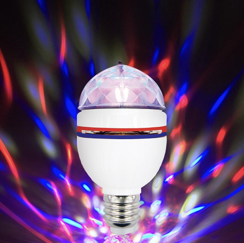 Red Blue Party Bulb - V0299RWB