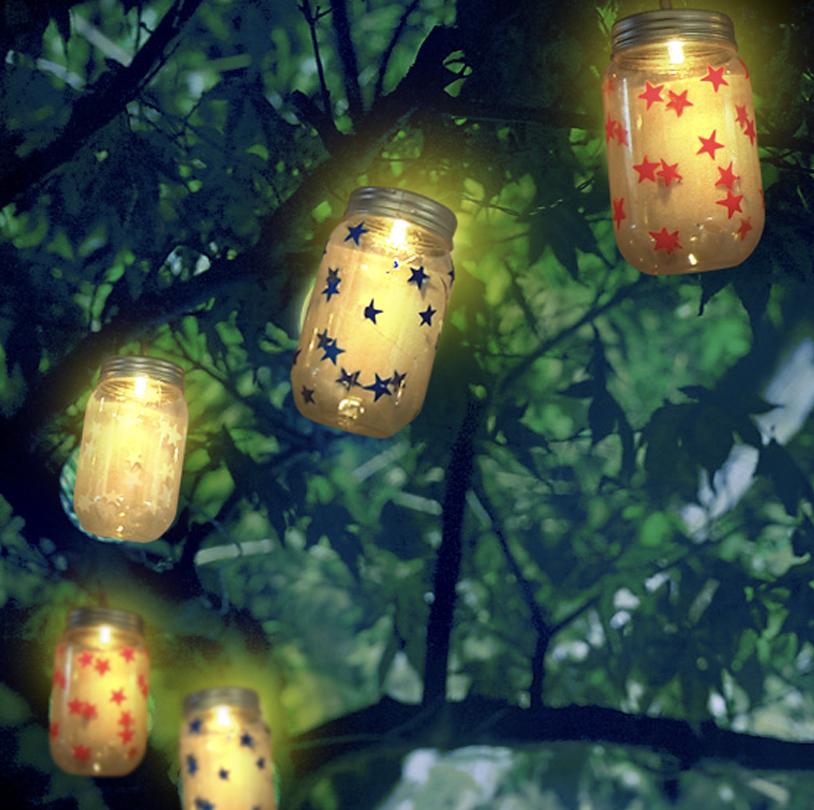 Mason Jar String Lights - VPS004