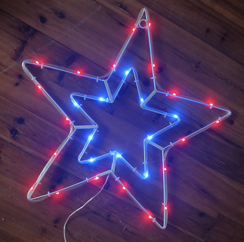 Double Star Wall Light - VPS011