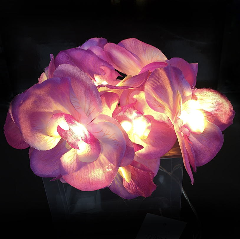 Pink Orchid String Light - V0121