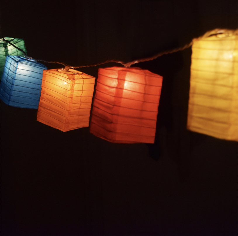Paper Lantern String Light - SSUL01