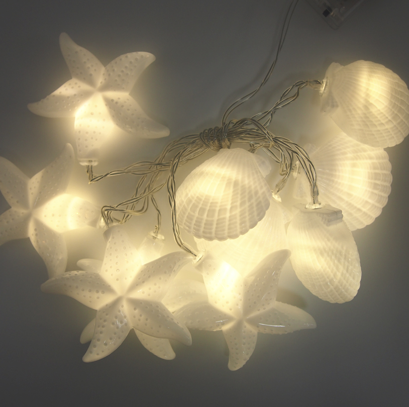 Star,Shellfish String Light - SSLB01