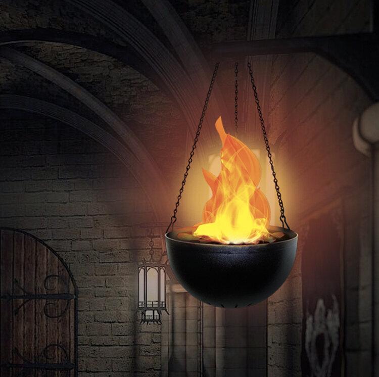 Hanging Flame Light - V0106C