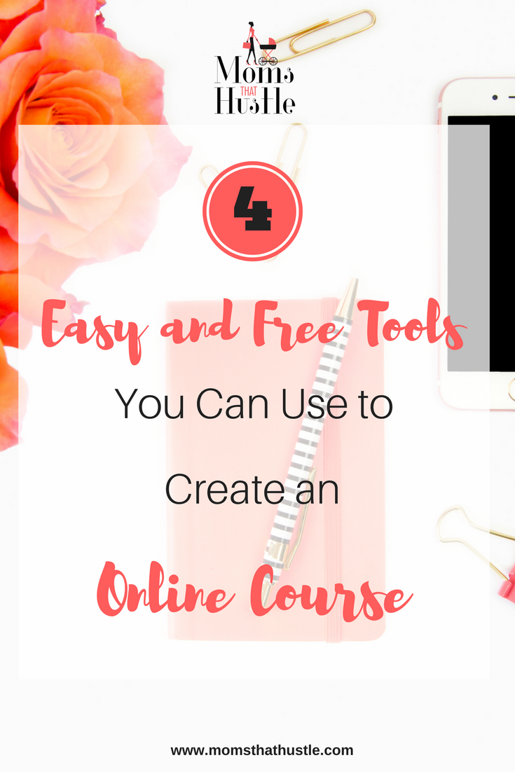 4 free and easy tools to create an online course