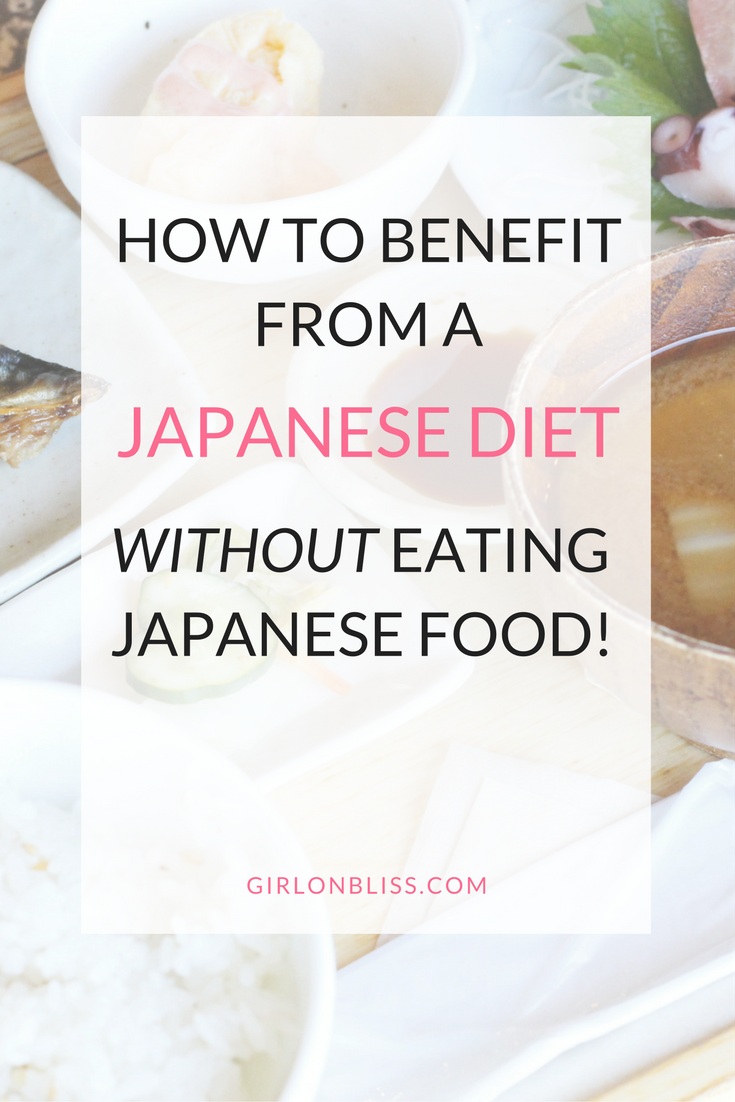 How to eat healthy like the Japanese