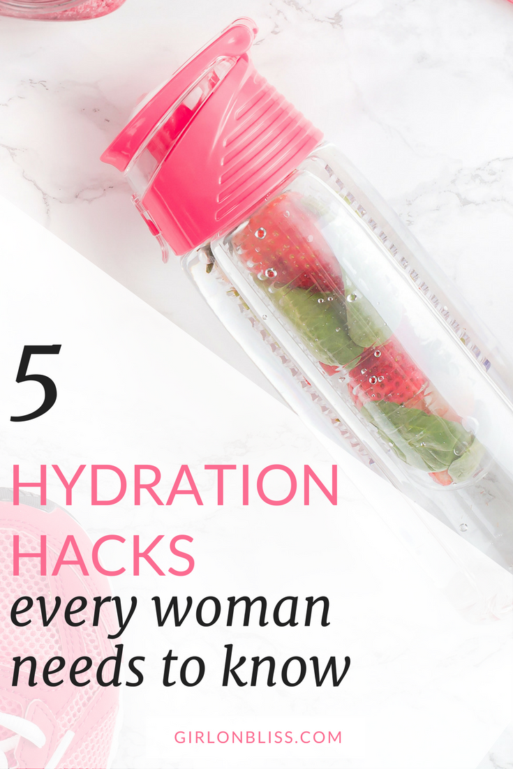 5 Hydration Hacks Every Woman Needs to Know
