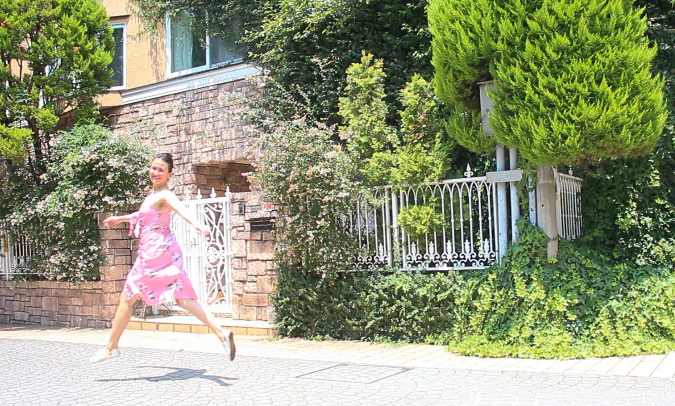 Girl on Bliss Mango Dress Omotesando