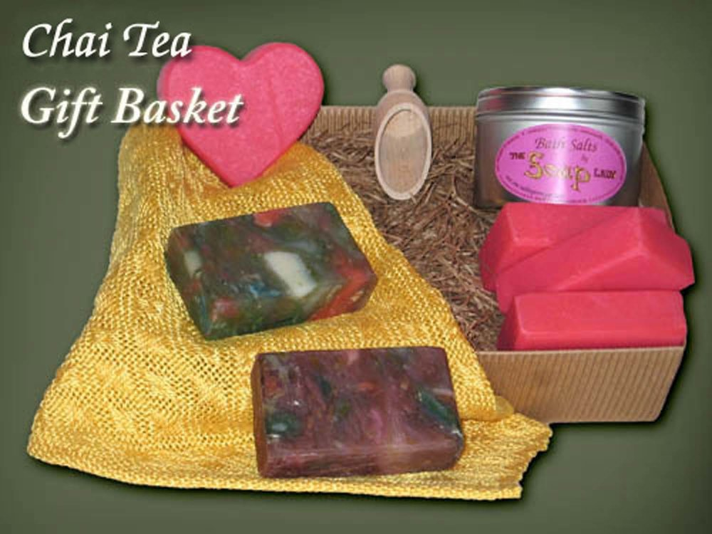 The Soap Lady — Chai Tea Gift Basket