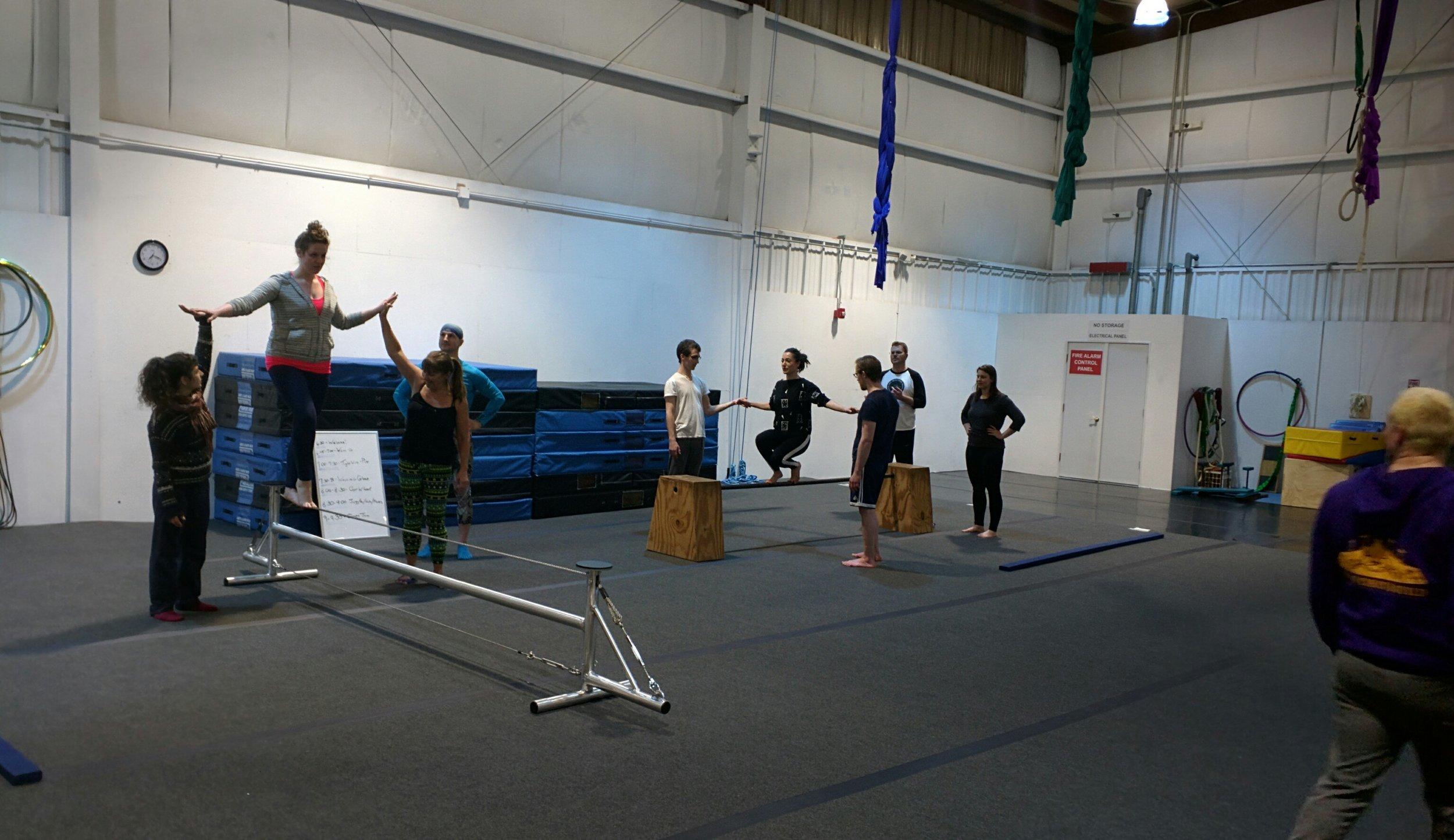 Teen & Adult Wire Walking & Balance Skills