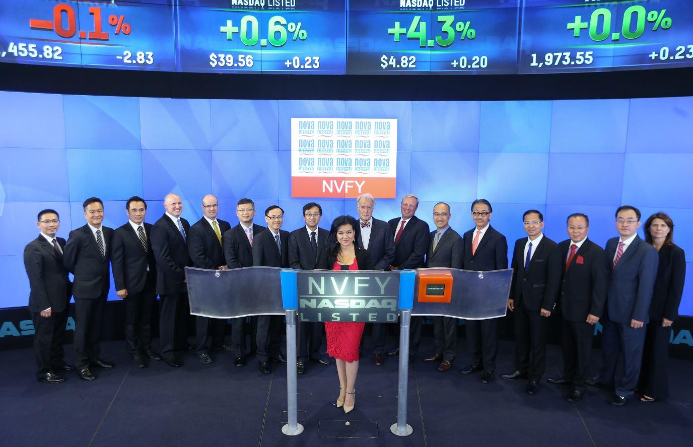 NASDAQ Bell Ringing Ceremony July 2, 2014