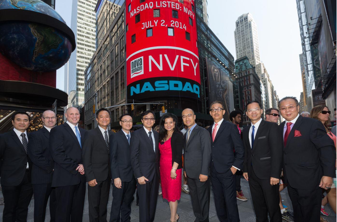 NASDAQ Bell Ceremony, Times Square, NY July 2, 2014