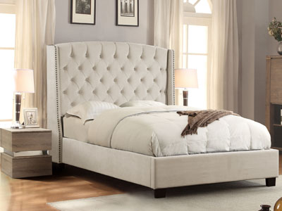 Majestic Arched Top Winged Bed