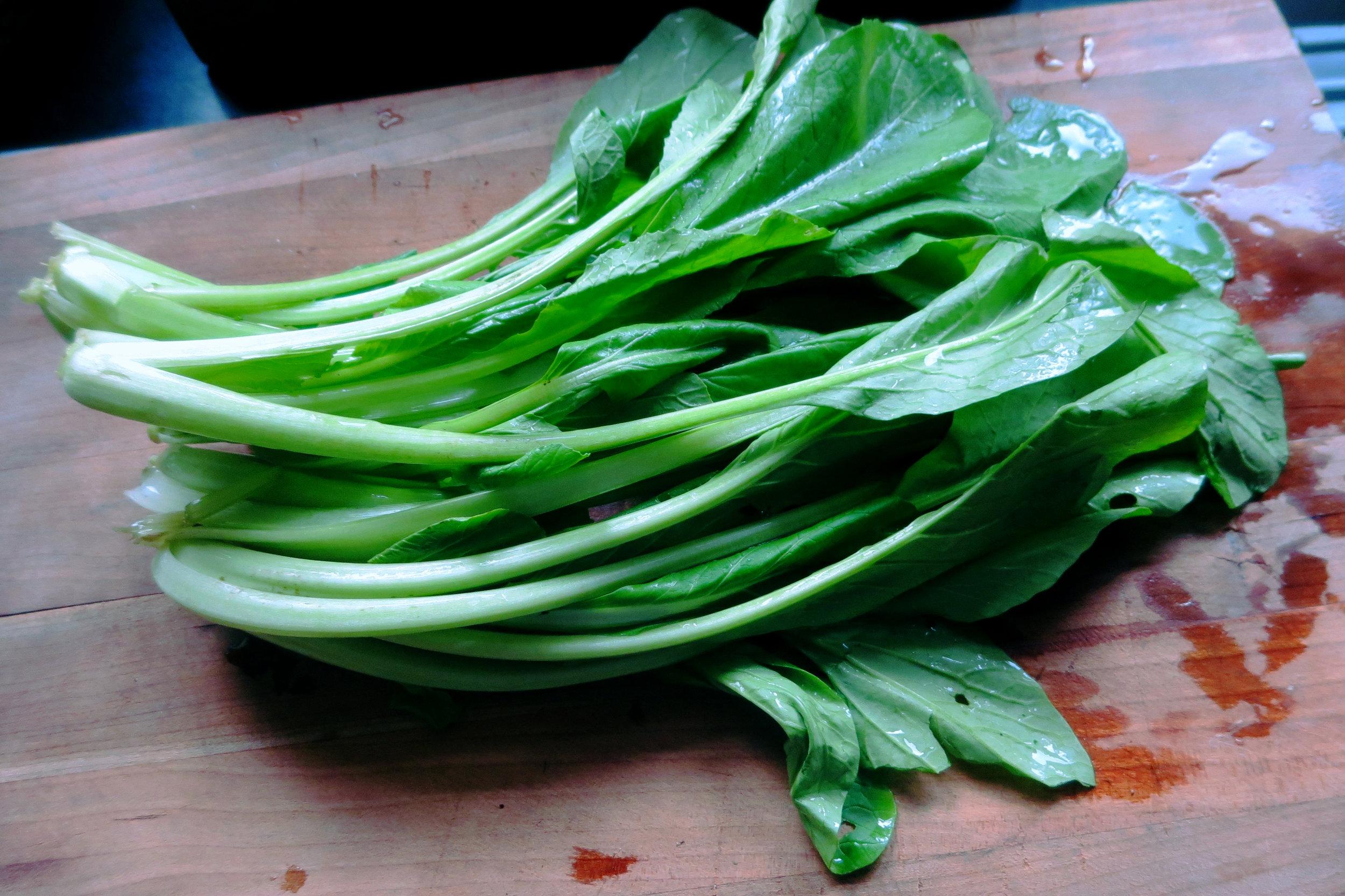 Komatsuna Mustard Spinach