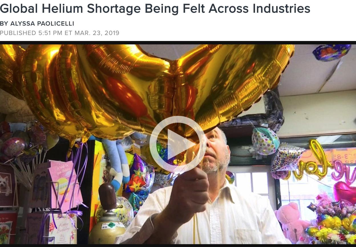 NY1 Helium Shortage