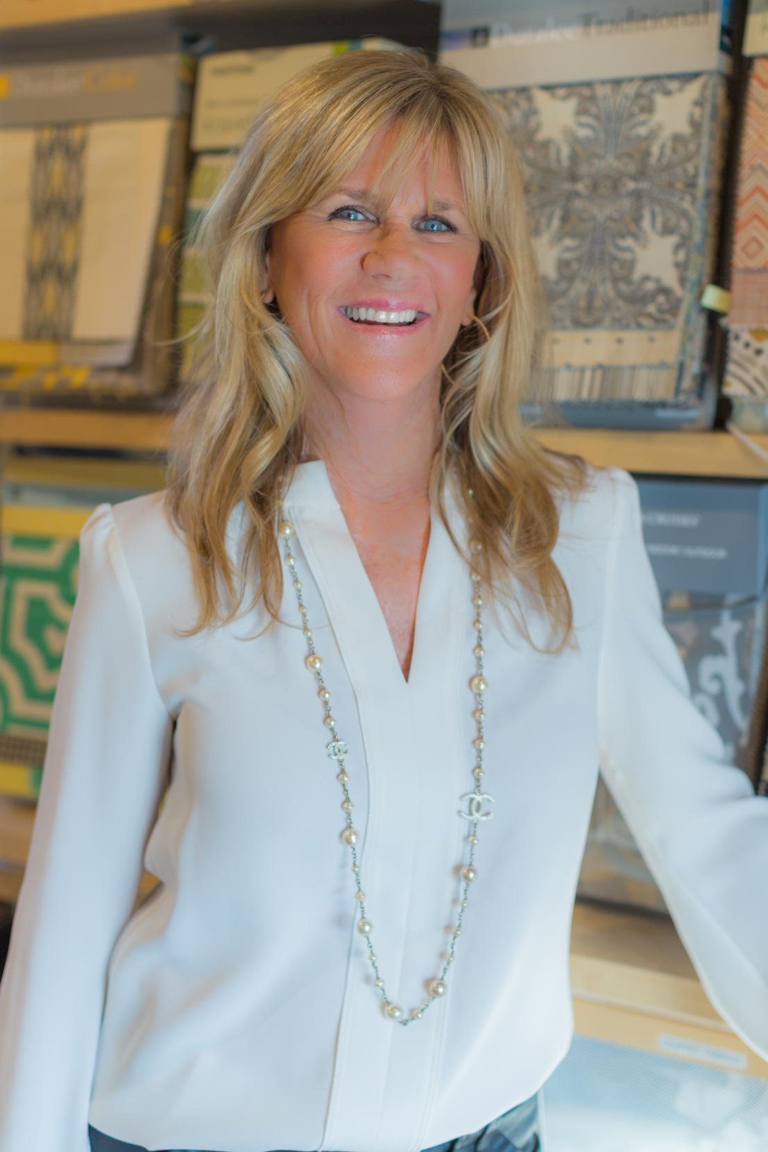 """Debra Borden - Owner and Principal Designer, Debra Borden, has over 35 years experience in the Interior Design Industry. Debra lives by the motto, """"home is where your story begins,""""she believes that everyone tells their story through the way they live their life. Many of the Borden Interiors clients are repeat customers, and referrals from happy customers.Debra began her career at Barker Brothers in Los Angeles, where she was involved in store planning and was the Head Designer for the Home Design Studio. She is a graduate of the University of Arizona at Tucson with a Bachelor of Science Degree in Interior Design. Debra is also a member of IIDA and is a CCIDC Certified Interior Designer."""